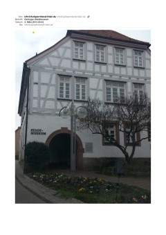 Schlüsseldienst Gerlingen Stadtmuseum