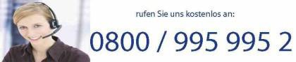 Anrufdame nimmt Anruf für Schlüsseldienst Schorndorf entgegen